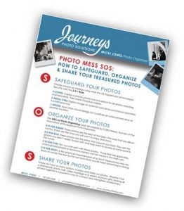 Journeys Photo Solutions Photo Mess SOS Tip Sheet